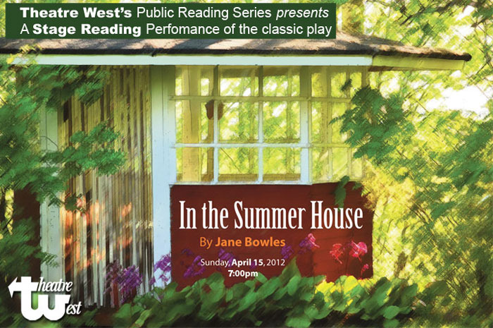 Staged Reading of In The Summer House – 7pm Tonight!