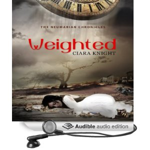 The Audiobook of Weighted is out on iTunes, Audible and Amazon!
